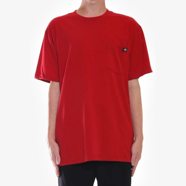 Box Classic Heavyweight Tee - English Red