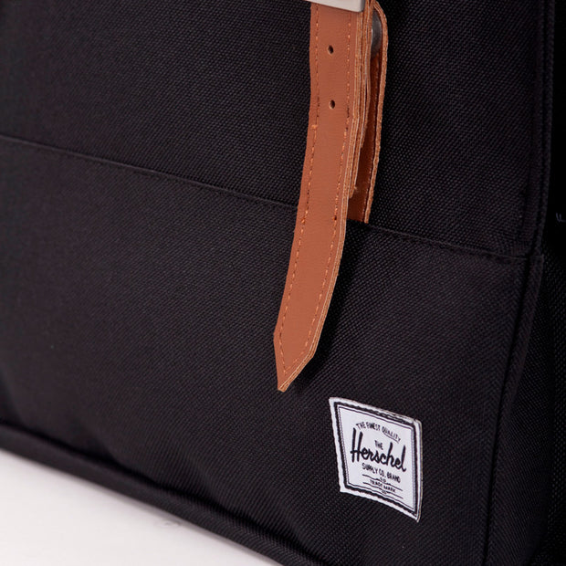 Herschel - Survey Backpack - Black-Tan Herschel