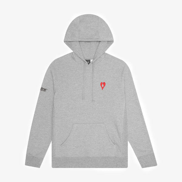 HUF X Phil Frost Hoodie - Grey Heather