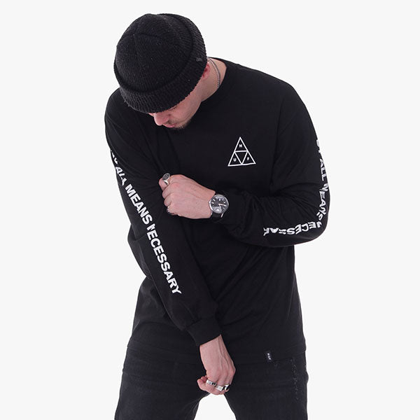 Essentials TT L-S Tee - Black