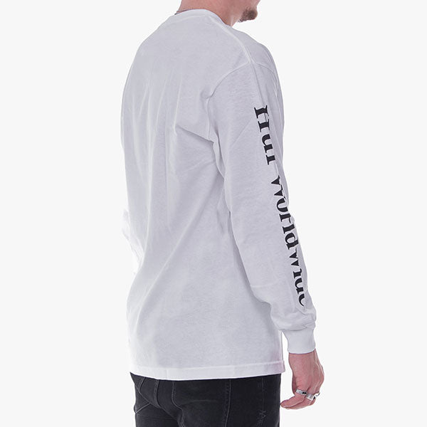 Domestic L-S Tee - White