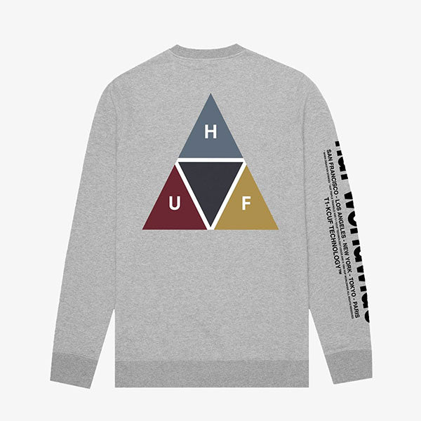 Prism Crew - Grey Heather
