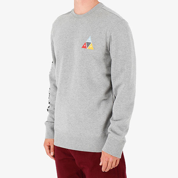 HUF - Prism Crew - Grey Heather