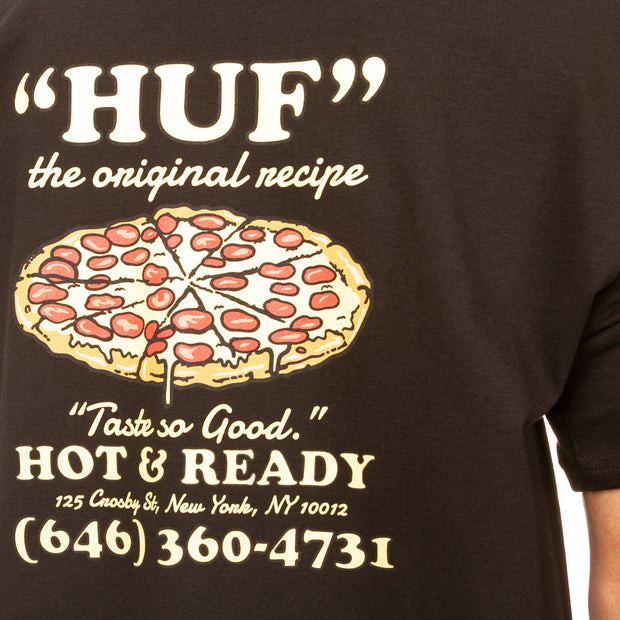 Hot & Ready Tee - Black