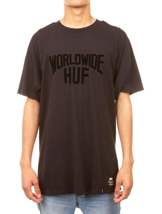 Manhattan Overdye Tee - Black