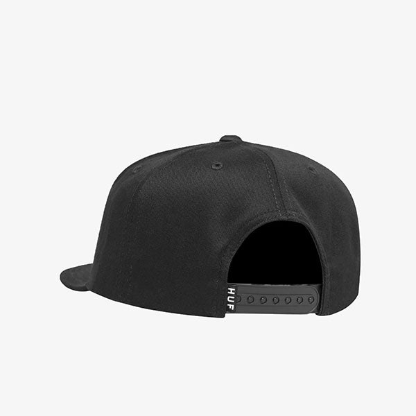 HUF - Unlimited Snapback Hat - Black