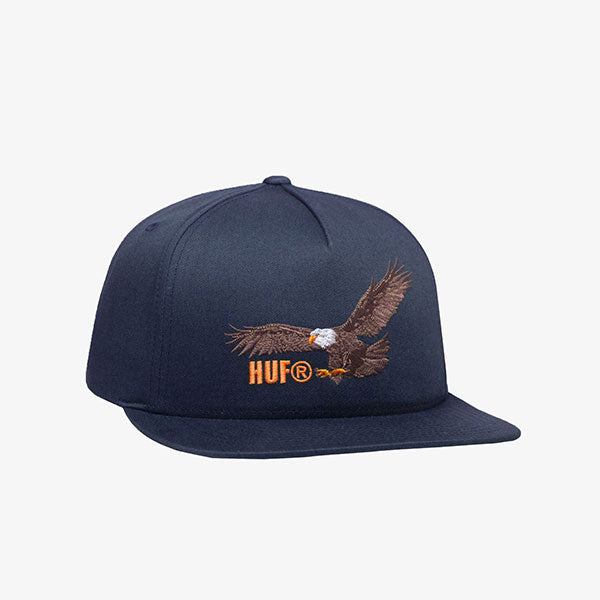 Wingspan Snapback Hat - Dark Navy