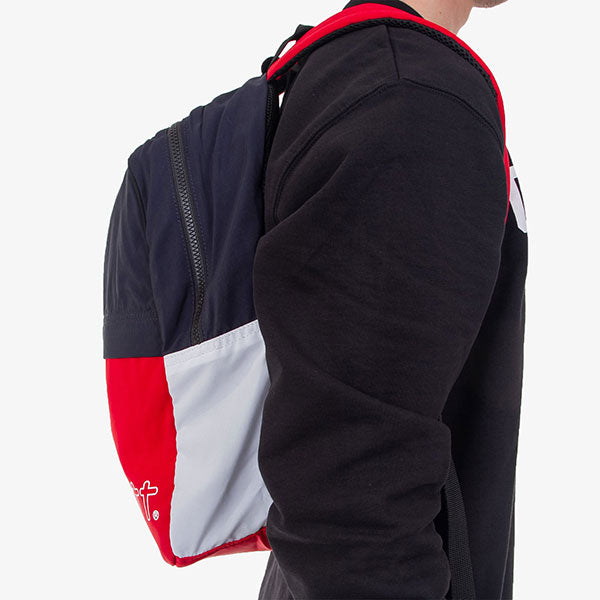 Terrace Backpack - Cardinal/Navy/White