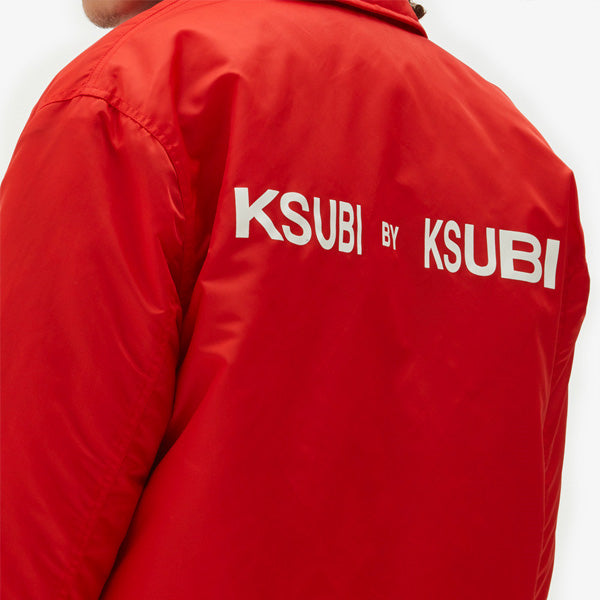 Ksubi By Ksubi Coach Jacket - Red