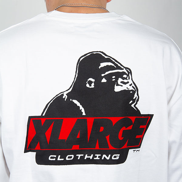 XLARGE - Los Angeles L-S Tee - White