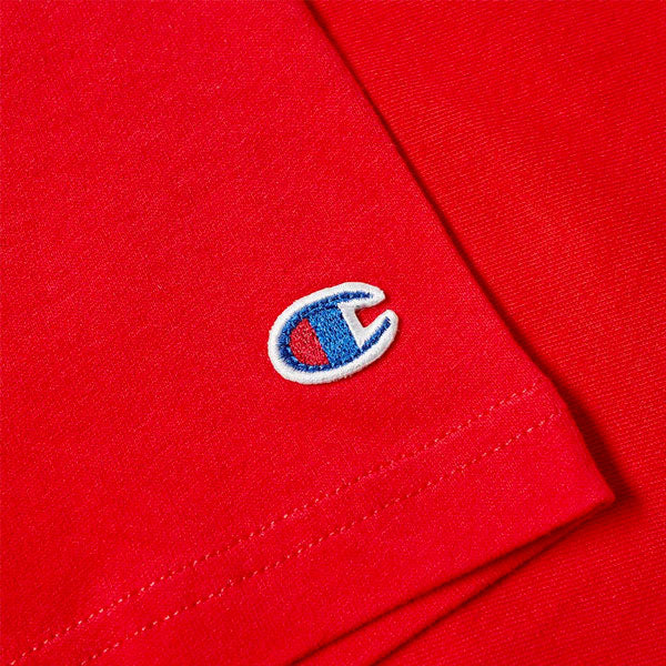 Heritage Tee - LC Script - Team Red Scarlet Champion