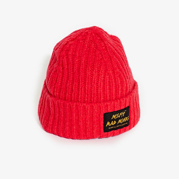 Misfit Lobus Beanie - Bright Red