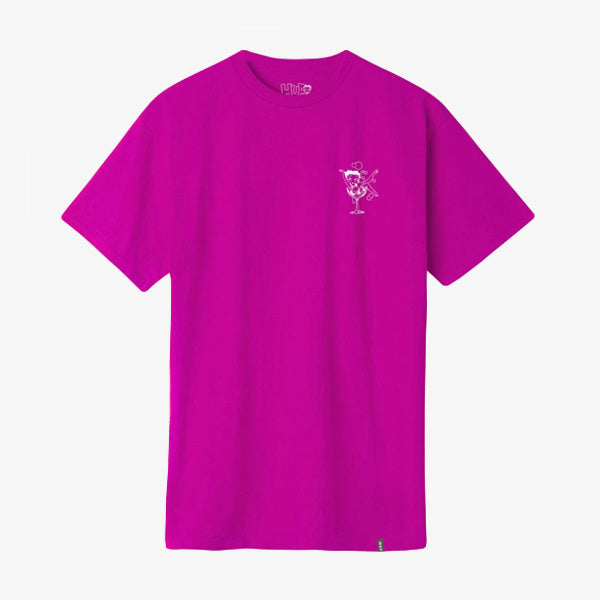 BB Martini Tee - Hot Pink
