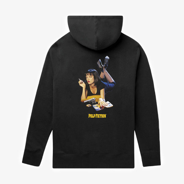 HUF X Pulp Fiction Mia TT Hoodie - Black