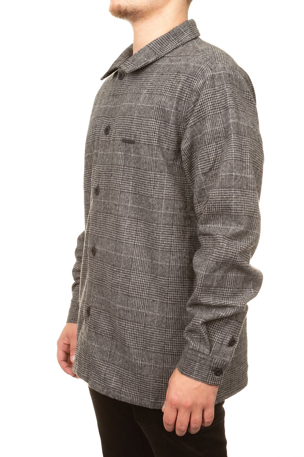Bulldozz LS Shirt - Charcoal