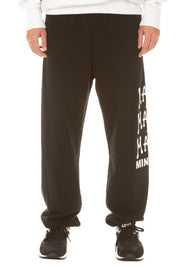 Perfect Person Trackpant - Washed Black