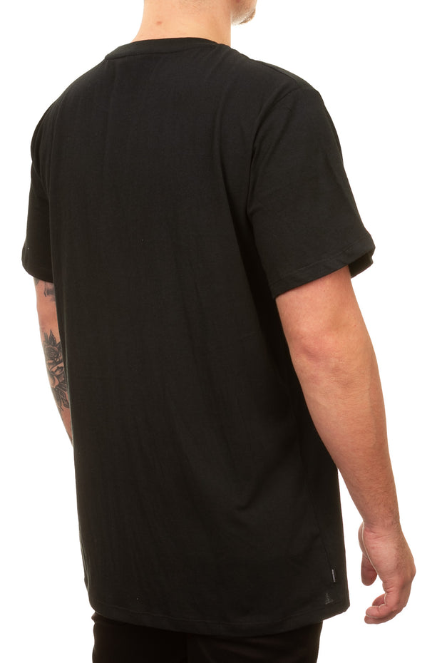 Human Canvas Tee - Washed Black