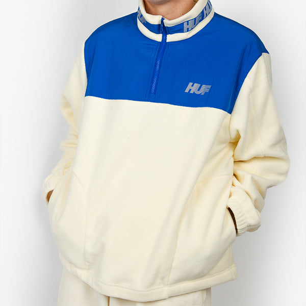Mountain 10K Quarter Zip - Natural