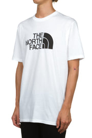 SS Half Dome Tee - White - Black The North Face