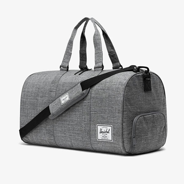 Novel Duffel Bag - Raven Crosshatch
