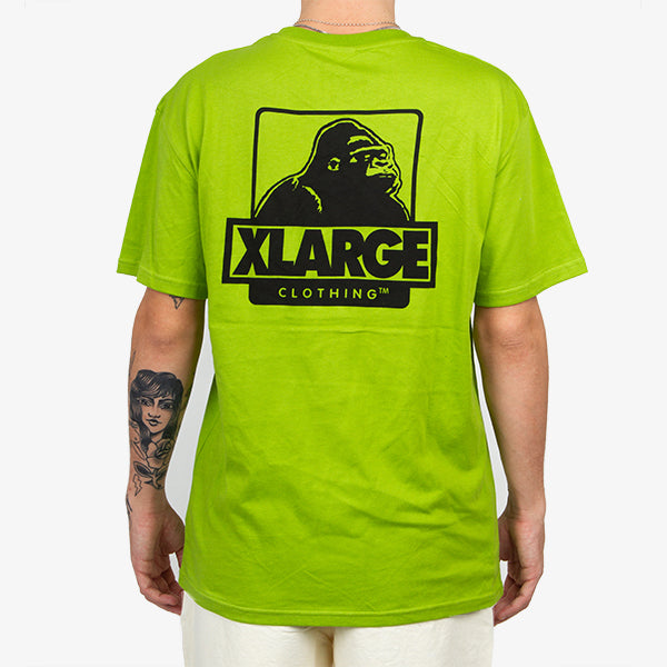 XLARGE - OG Text Tee - Glow Green