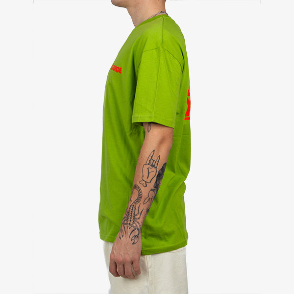 XLARGE - OG Text Tee - Lime Green