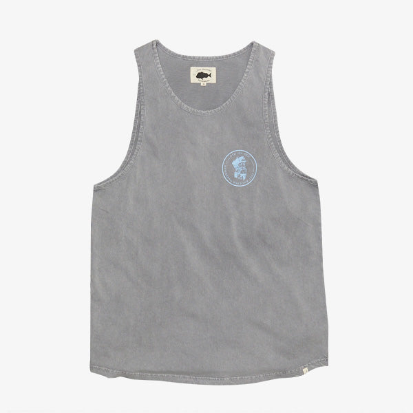 Old Sea Dog Singlet - Slate Grey
