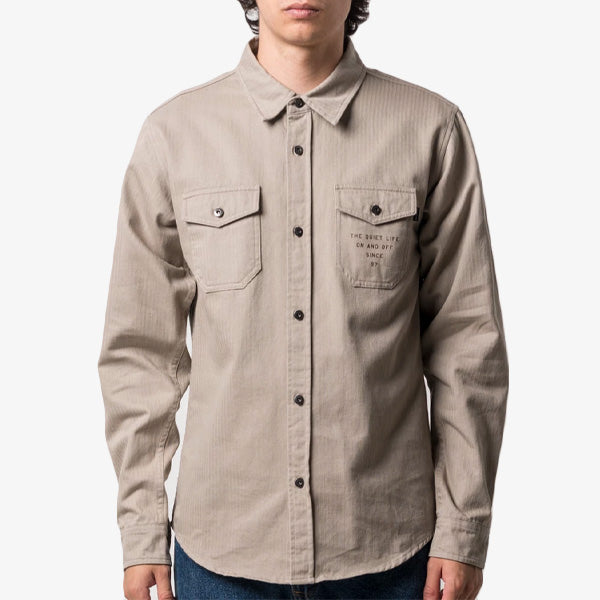 On & Off Workshirt - Tan
