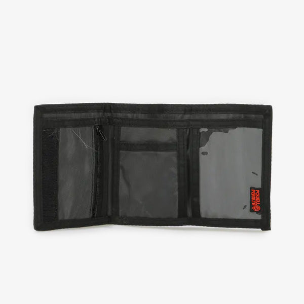 Ripper Tri-fold Velcor Wallet - Black