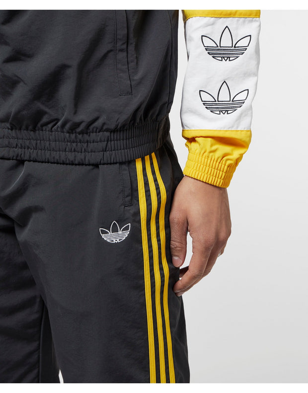 Adidas Originals - Woven 3 Stripe Pant - Black/Bold Gold