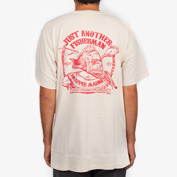 Snapper Madness Tee - Washed Stone
