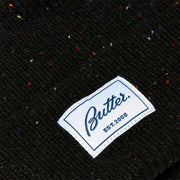 Butter Goods - Speckle Beanie - Black