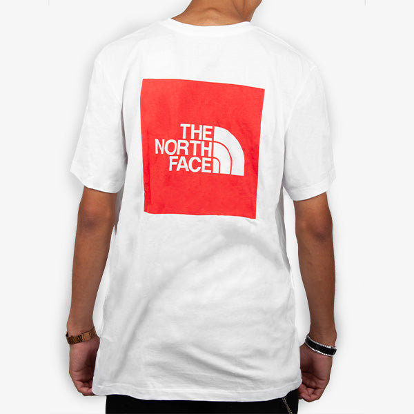 Red Box Tee - White