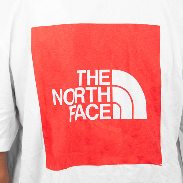 The North Face - Red Box Tee - White