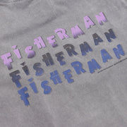 Just Another Fisherman - Stack Tee - Slate Grey