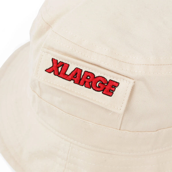 Stash Bucket Hat - Stone/Off White