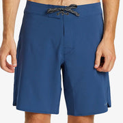 Stretch Hydropeak Boardshorts - Stone Blue