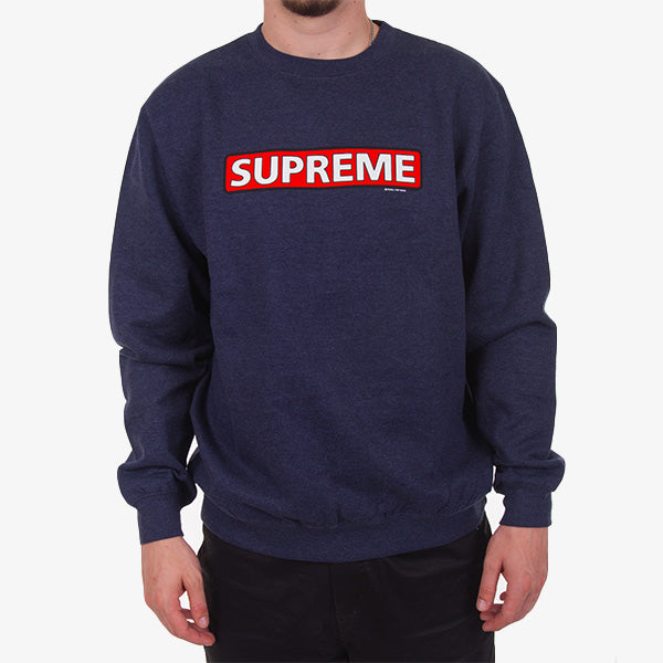 Supreme Crew  - Navy Heather