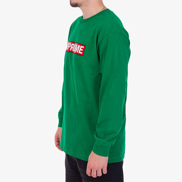 Supreme L-S Tee - Kelly Green