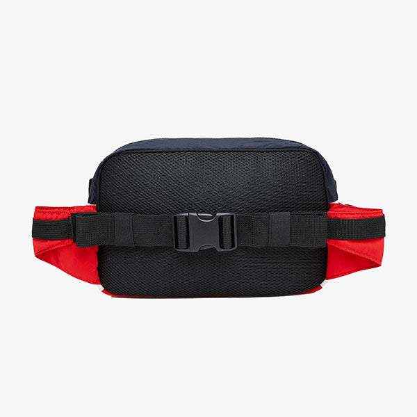 Terrace Hip Bag - Cardinal/Dark Navy/White