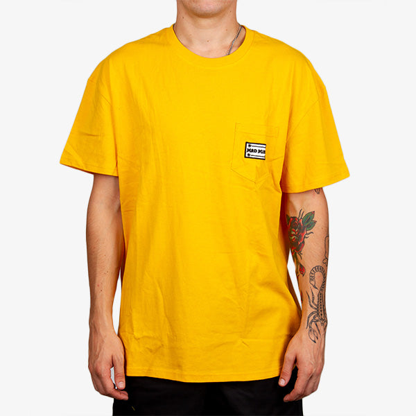 To The WWW Tee - Gold