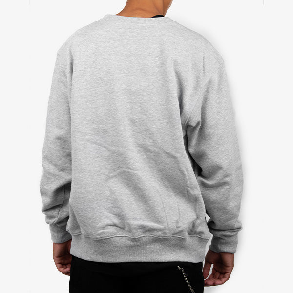 Tonal Drop Crew - Grey Heather