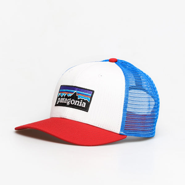 P-6 Logo Trucker Hat - White