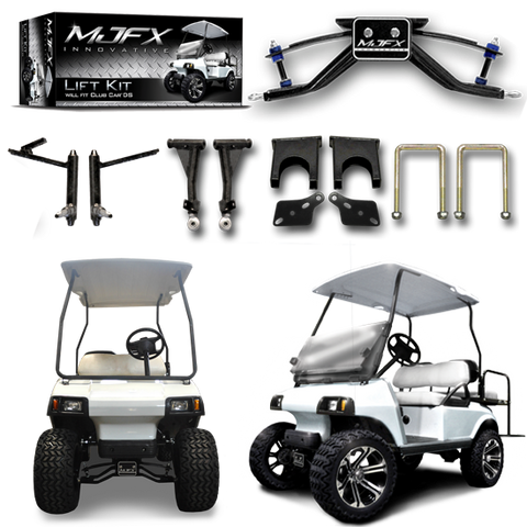 "MADJAX 6"" A-Arm Lift Kit. Will fit Club Car® DS® Golf Carts with Plastic Dust Caps"