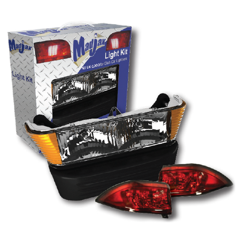 Euro Clear Light Kit. Will fit Club Car® Precedent® Golf Carts. Madjax