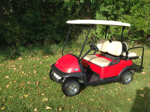Custom Club Car Precedent 2010 Electric Red