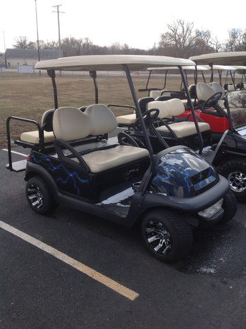 2005 Club Car Precedent with customs High Speed Custom