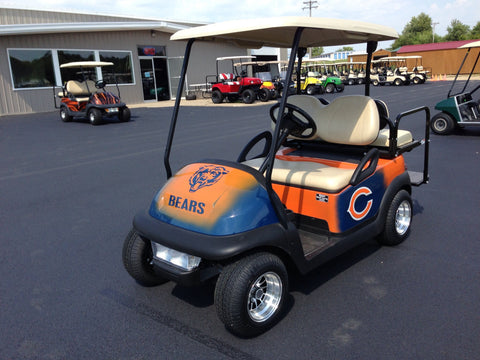Club Car Precedent 2011 Electric Chicago Bears Custom