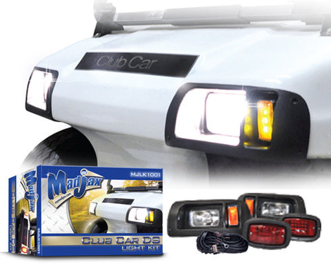 Light Kit. Will fit Club Car® DS® Golf Carts.