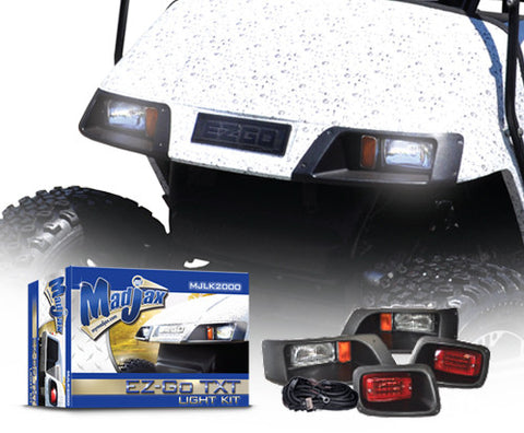 Light Kit. Will fit E-Z-GO® TXT® Golf Carts.